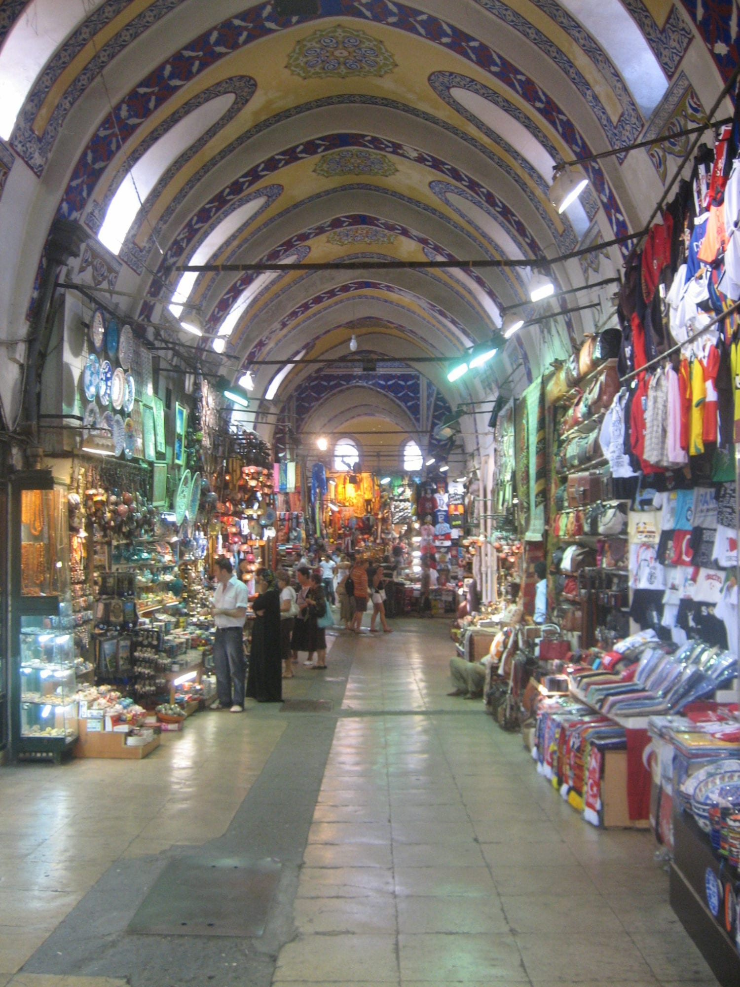 Michelle Spalding visiting the Grand Bazzar Istanbul Turkey