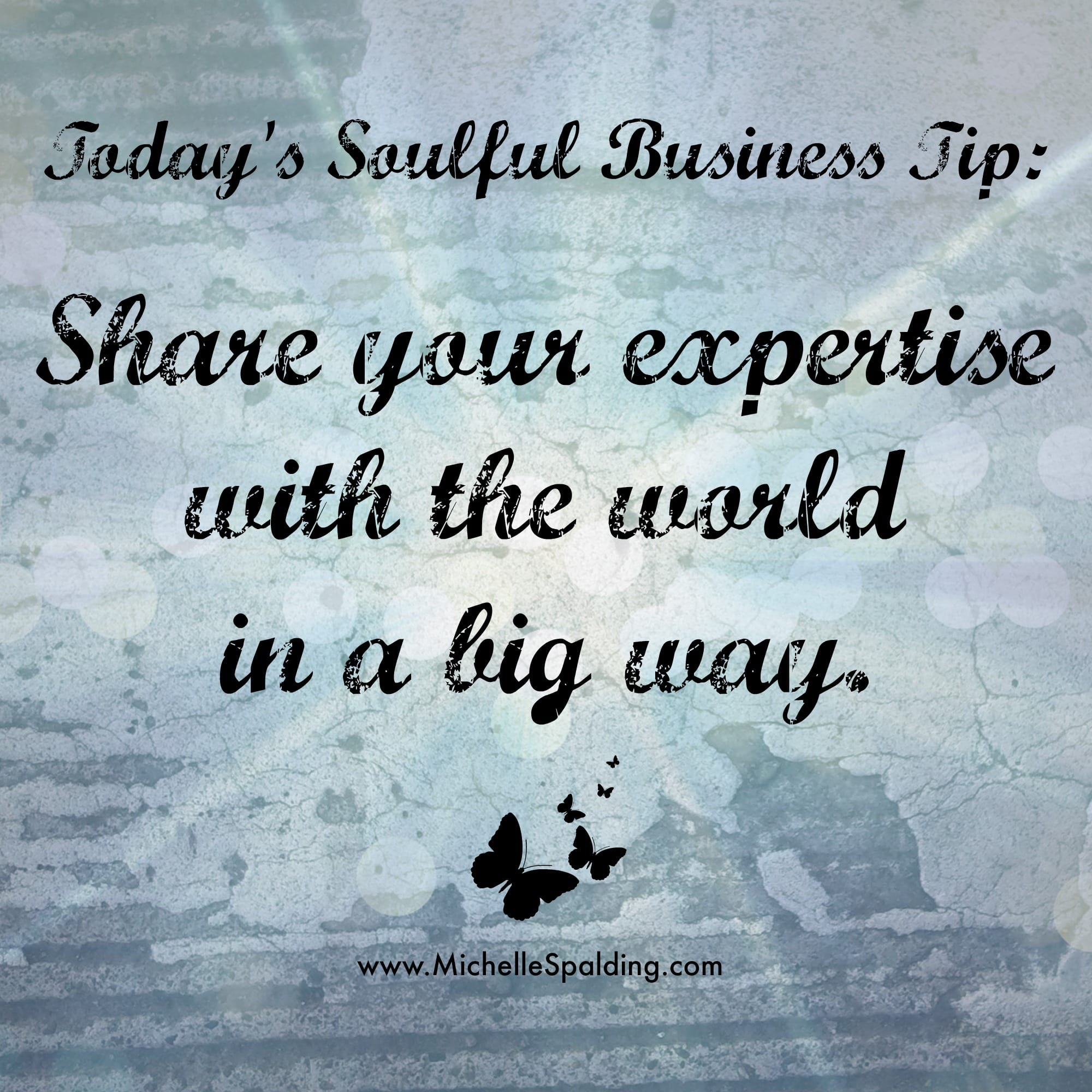 Share your expertise with the world in a big way